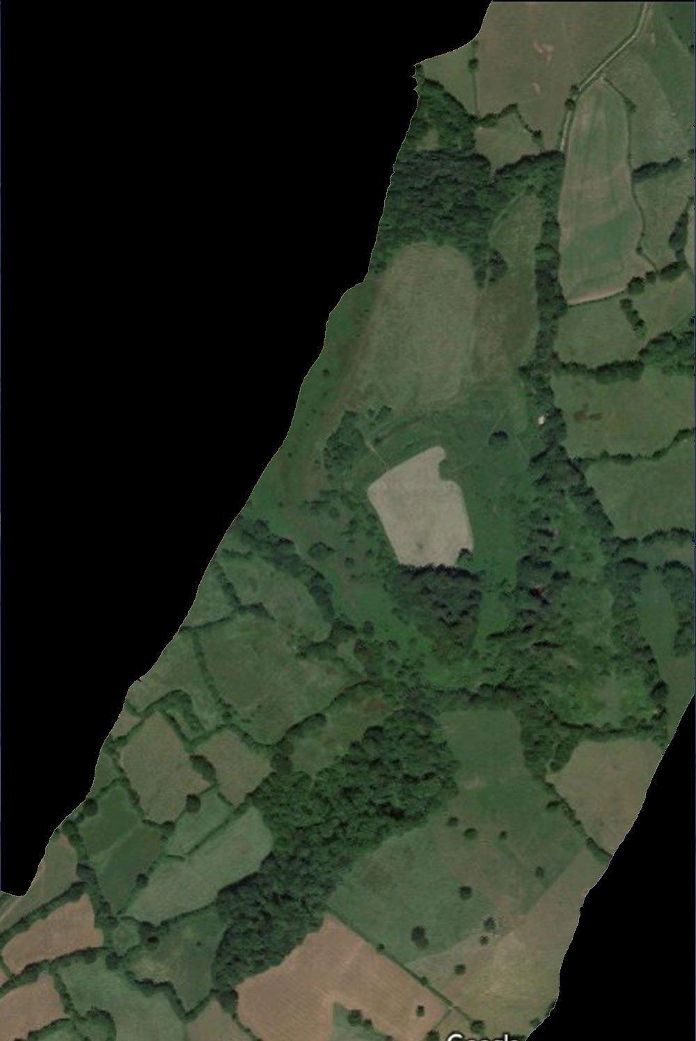Dumpden Hill Aerial Plan
