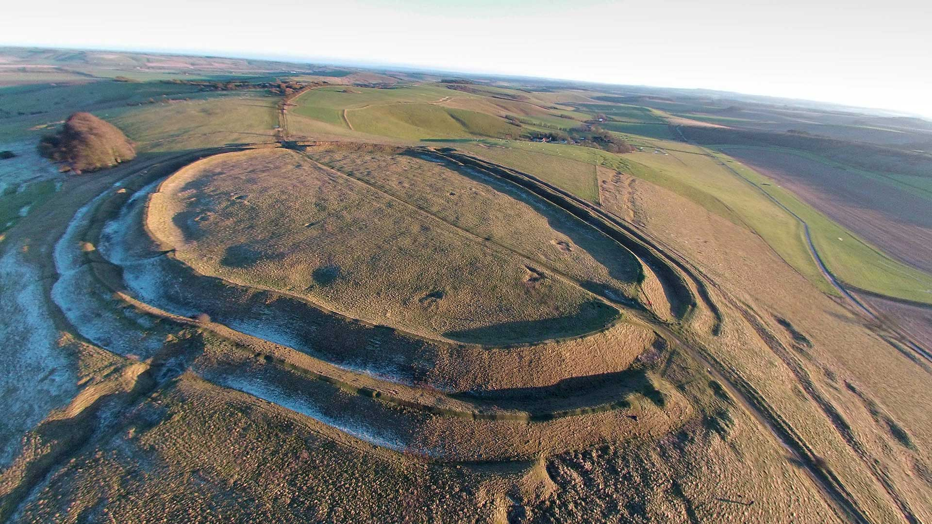 Barbury Hill | Hill forts in the UK